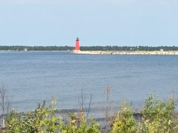 Manistique's red lighthouse