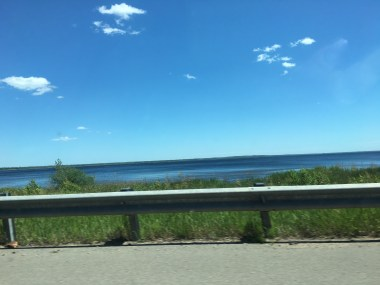 Lake Superior from the car