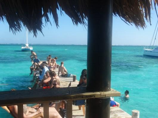 Palapa Bar dock.