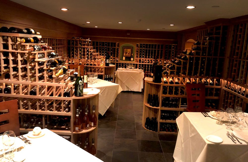 The Wine Cellar Restaurant at the Mountain View Grand Resort & Spa