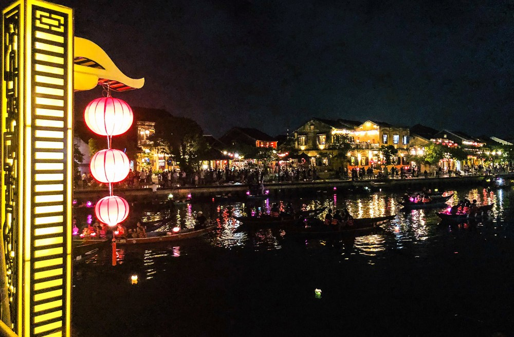 Stunning view of Hoi An