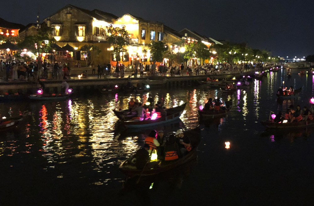 A view of Hoi An
