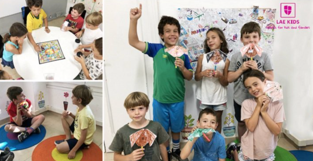 Kids at International Summer Camps