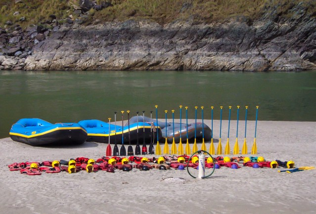 Ajay rafting