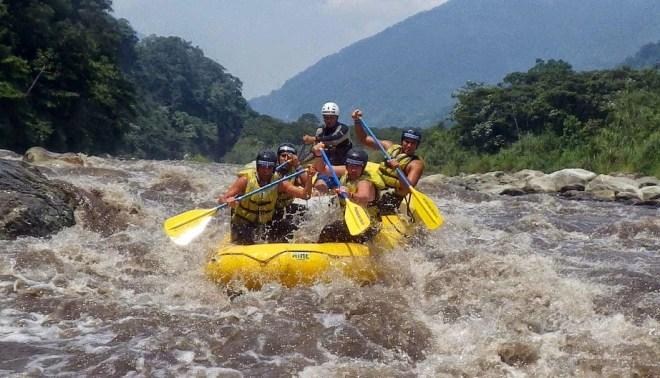 Simone Lye Rafting