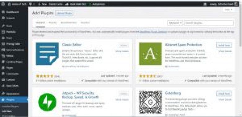 WordPress plugin sample