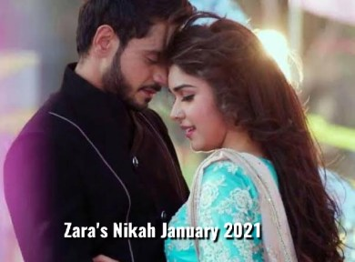 Zara's Nikah 19th January 2021 Zee World Update