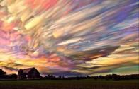 100 Sunsets in One