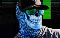 Hydro Skull Trippy Face Mask / Bandana