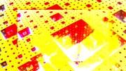 Abstract Vaporwave Fractal