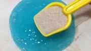 Sand Slime Mixing ASMR