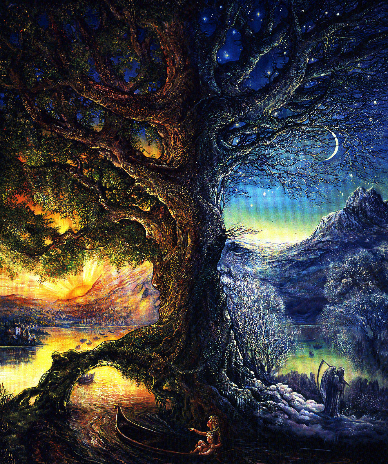 Tree Of Time River Of Life Trippy Me