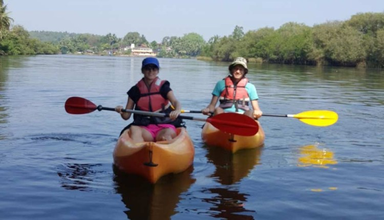 Kayaking-in-Goa-Backwater