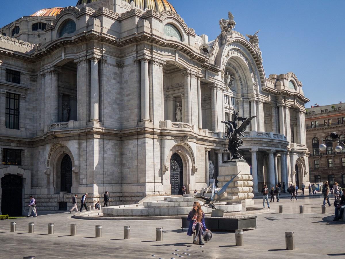 Palacio de Bellas Artes - Mexico city trip