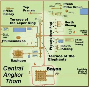 Angkor Thom - Map