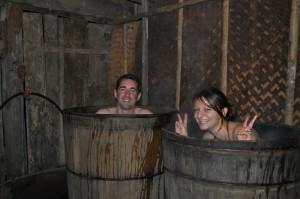 Red Dao herbal bath