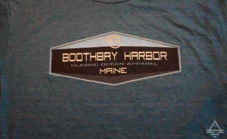 Boothbay Harbor Maine Tee