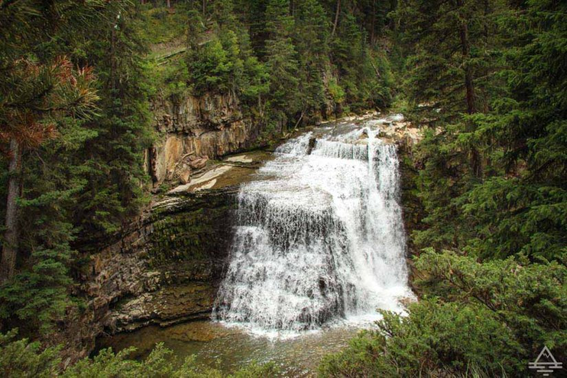 Ousel Falls near Big Sky, Montana