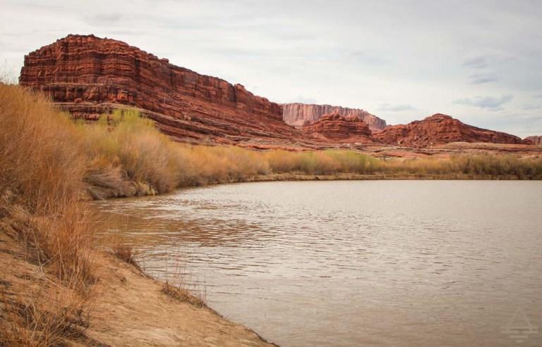 Colorado River at Potash