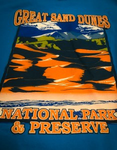 Great Sand Dunes National Park Tee Shirt