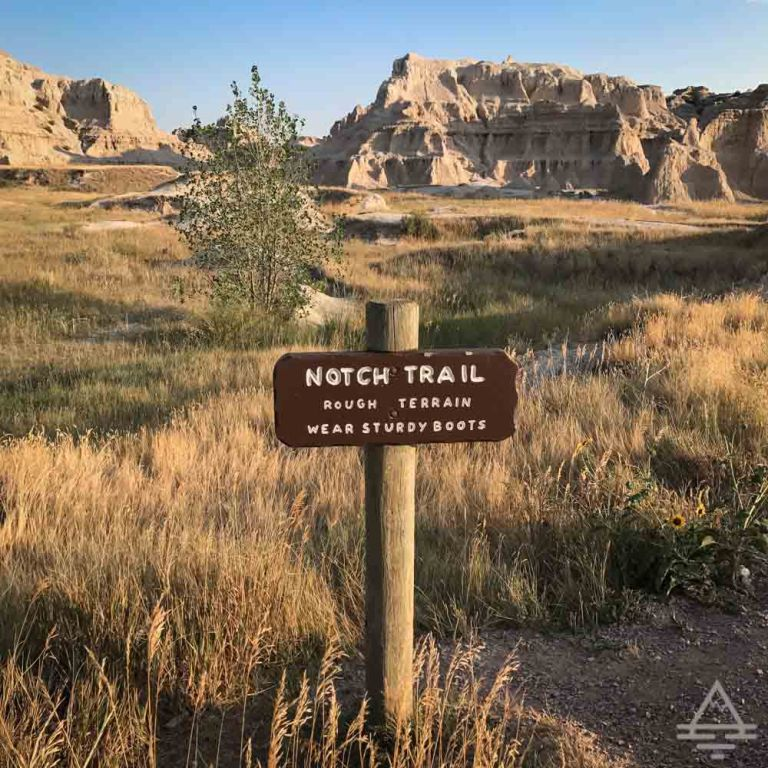 Badlands National Park Notch Trail-3 Trips
