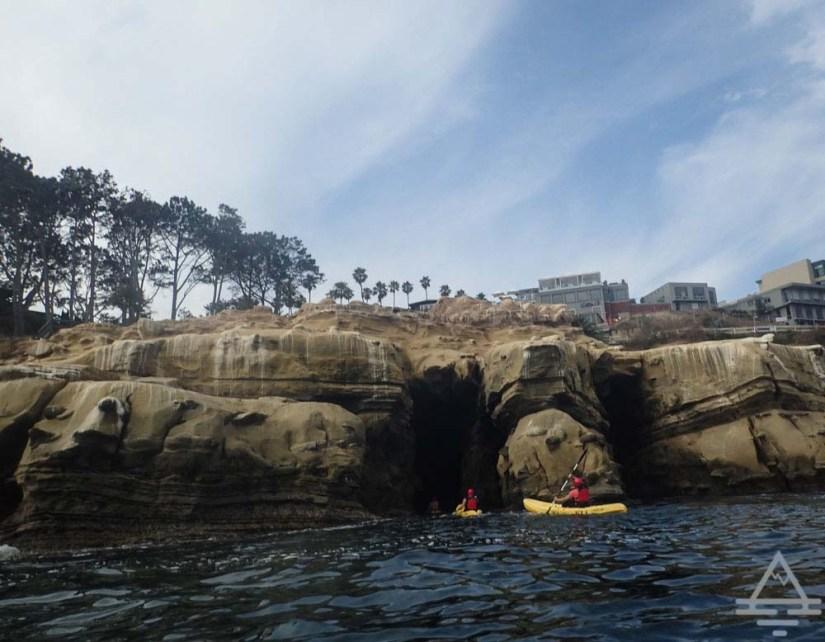 Sea Cave Kayaking in La Jolla