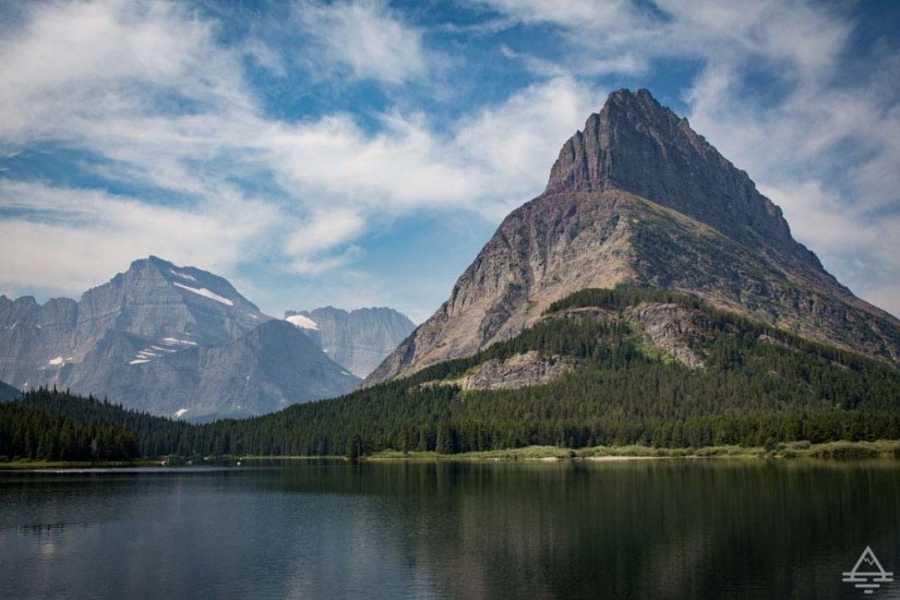 Glacier National Park Lakes - Swiftcurrent Lake