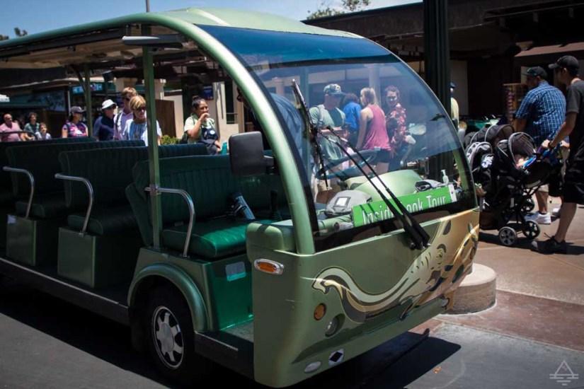 San Diego Zoo Inside Look Tour Shuttle