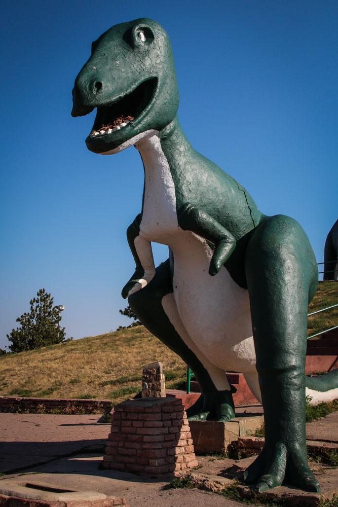 Black Hills Vacation Dinosaur
