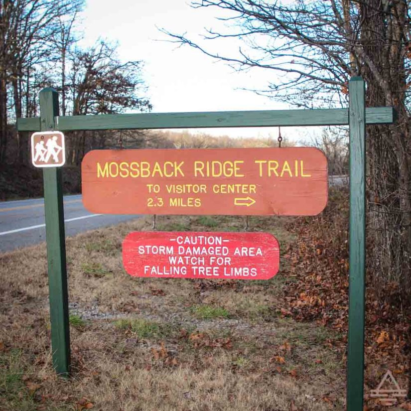 Mooseback Ridge Trail Sign