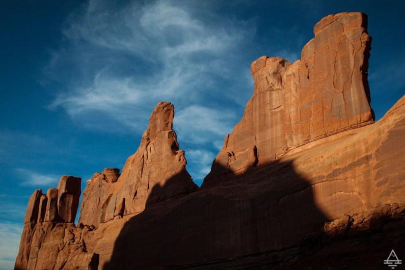 Arches National Park Scenic Drive-Park Avenue
