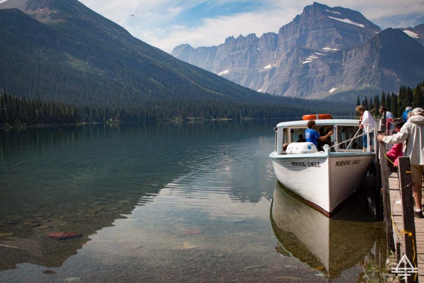 Glacier National Park Must-See Swiftcurrent Boat Tour
