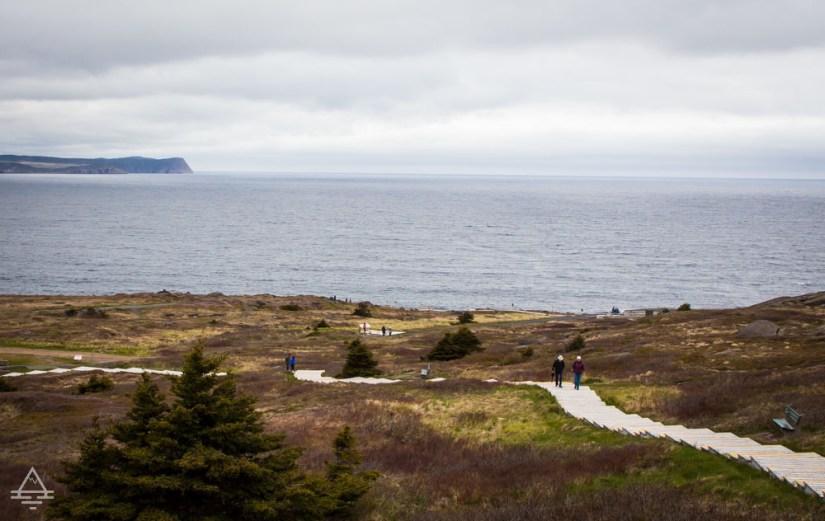 Newfoundland Cape Spear Walkway