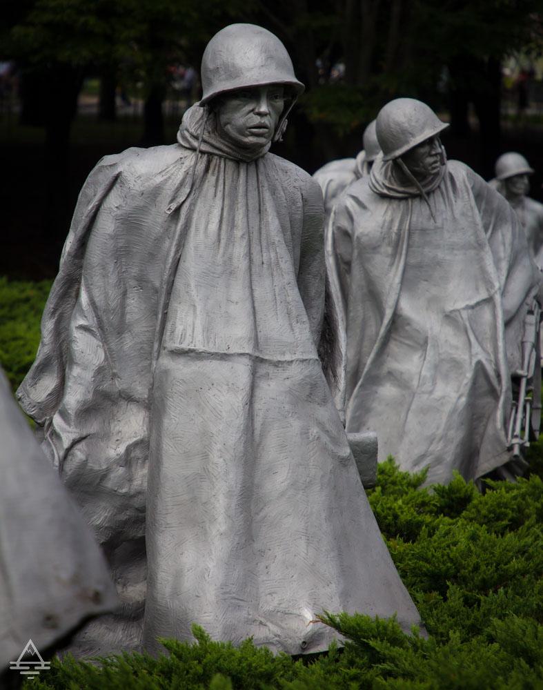 Washington DC- Korean War Memorial