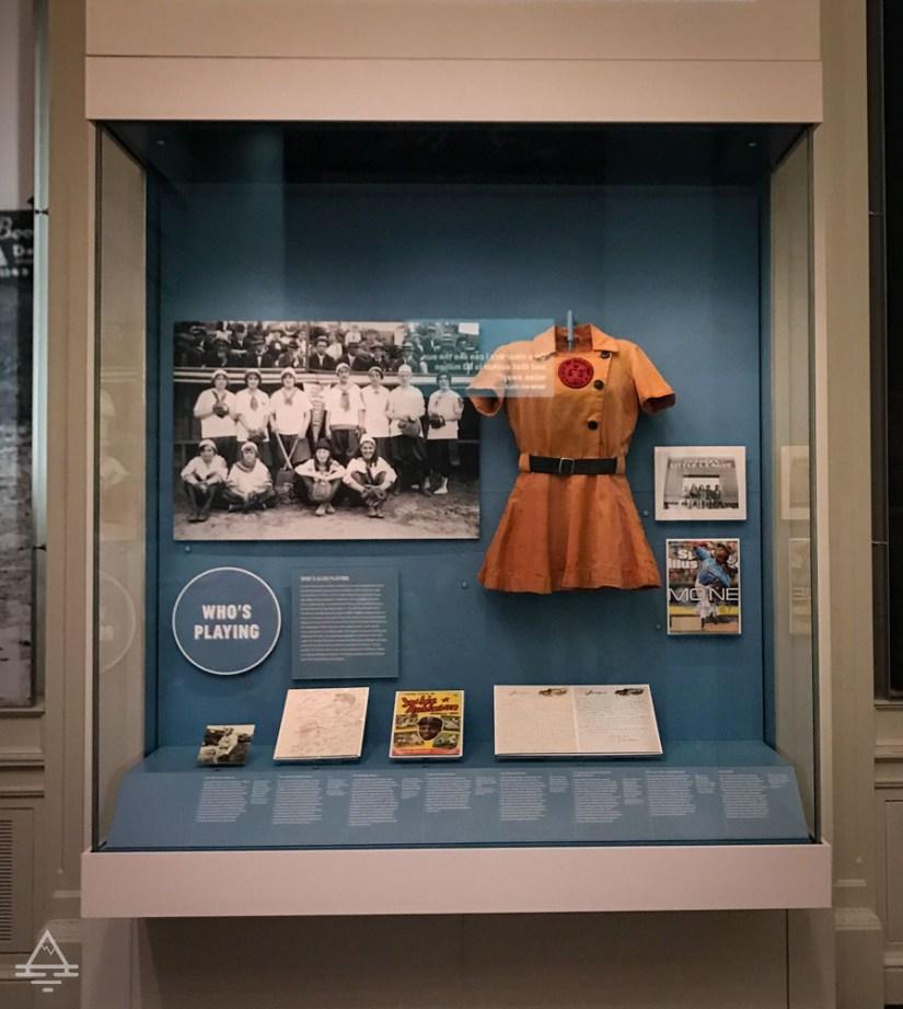 Exhibit for Girl's Baseball League