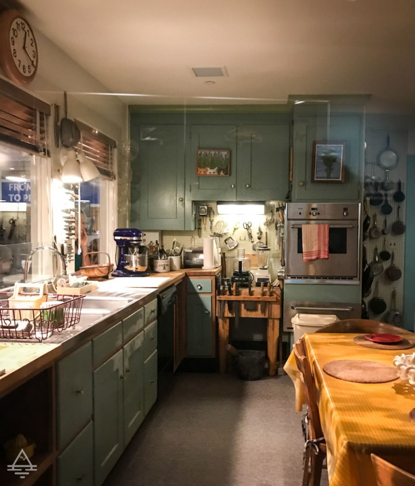 Julia Child's Kitchen from Her Home in Cambridge, Massachusetts