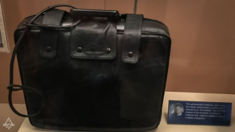"""The Briefcase Known as the """"Football"""" Carried during the Clinton Administration"""