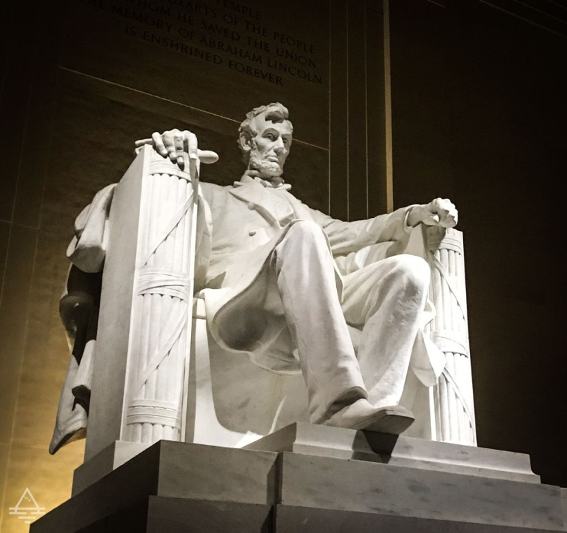 Lincoln Memorial - Lincoln in Chair