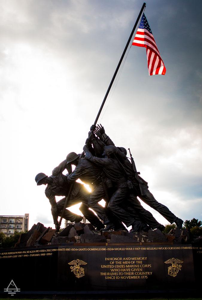 Arlington Cemetery Marine Corps War Memorial