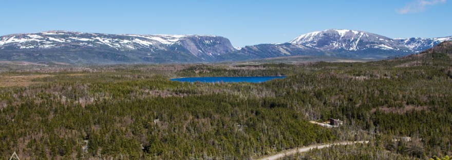 View from Berry Hill Trail in Gros Morne National Park