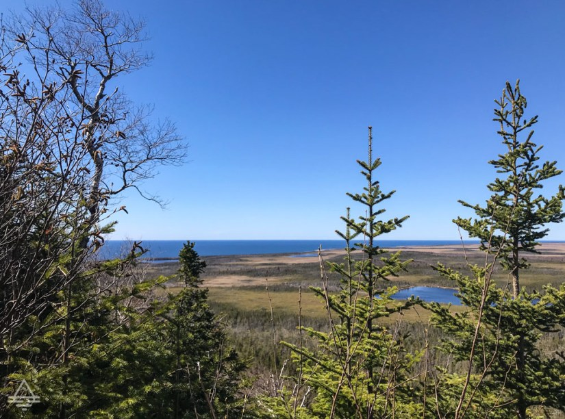 View of the Ocean from Berry Hill Trail in Gros Morne National Park