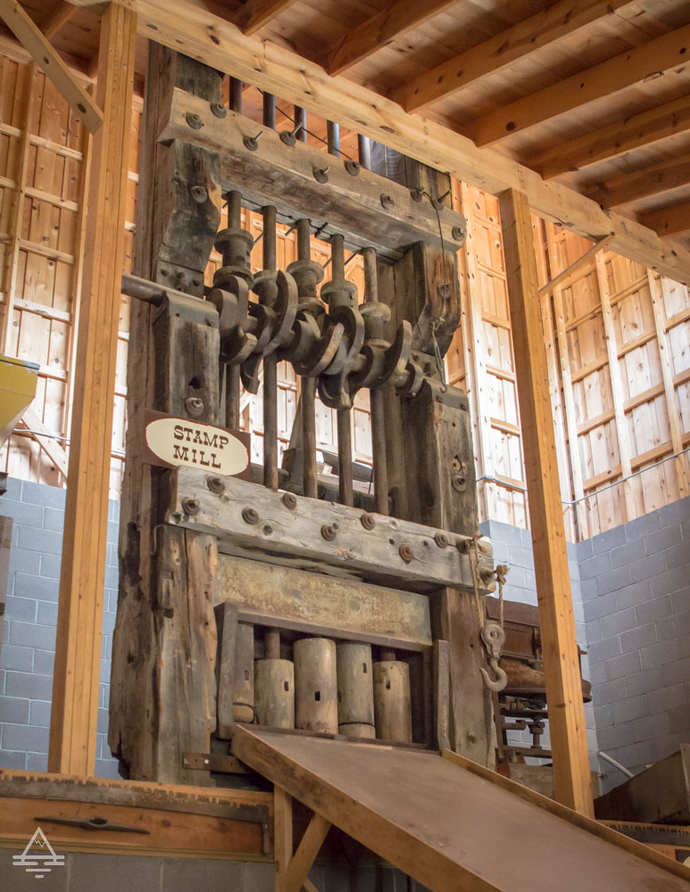 Stamp Mill at the Big Thunder Gold Mine
