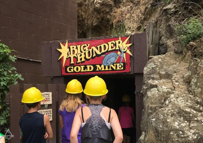 Black Hills Gold Mine Entrance