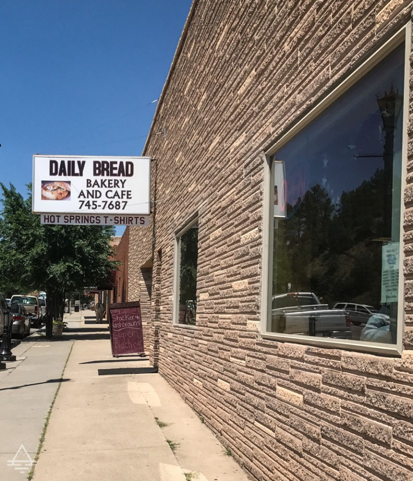 Front of Daily Bread Bakery and Cafe