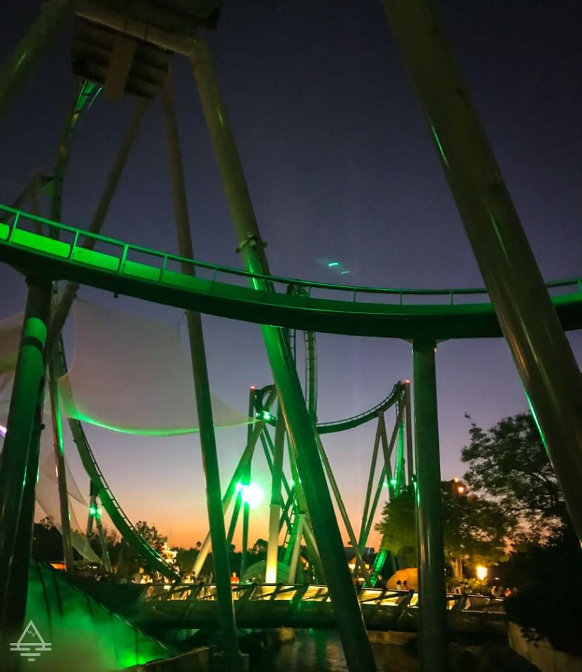 Hulk Roller Coaster Universal Studios