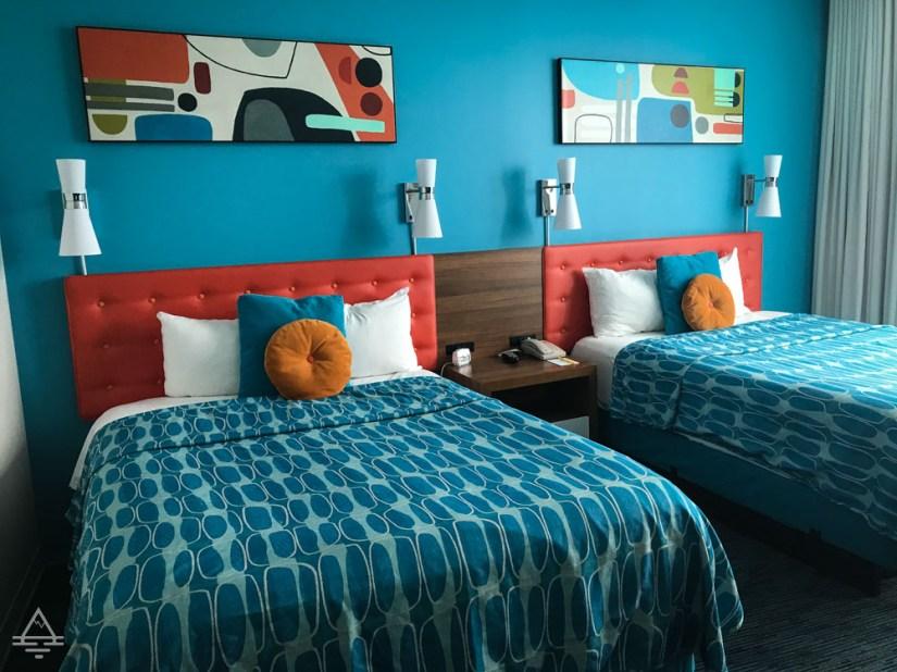 Cabana Bay Volcano View Room Beds