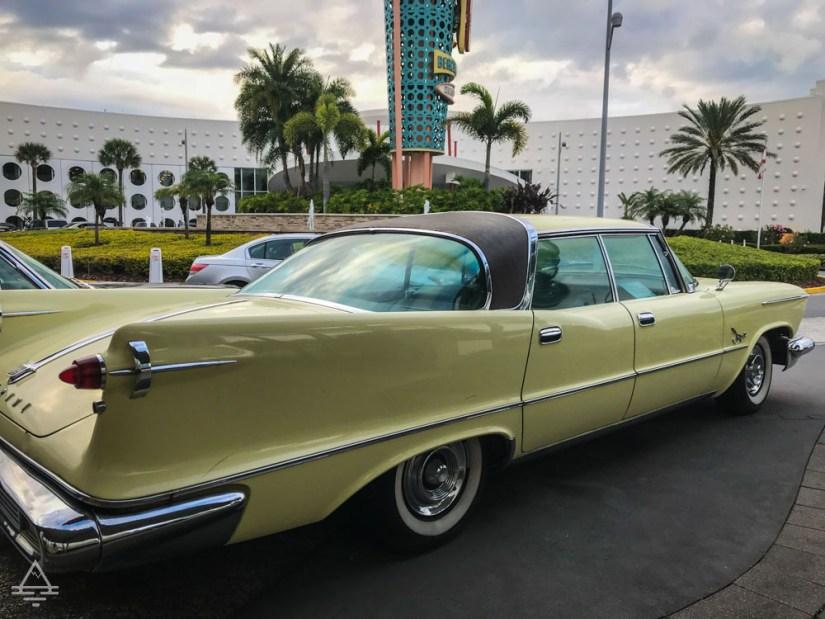 Car at Cabana Bay Beach Resort
