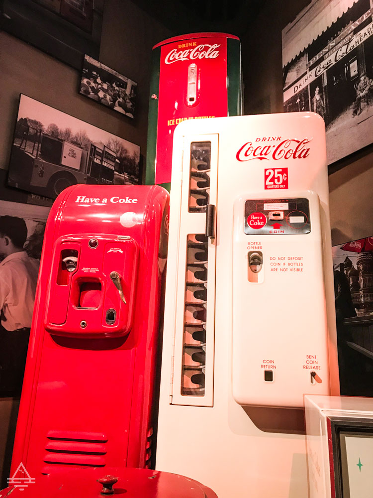 Coke Machines from the Past