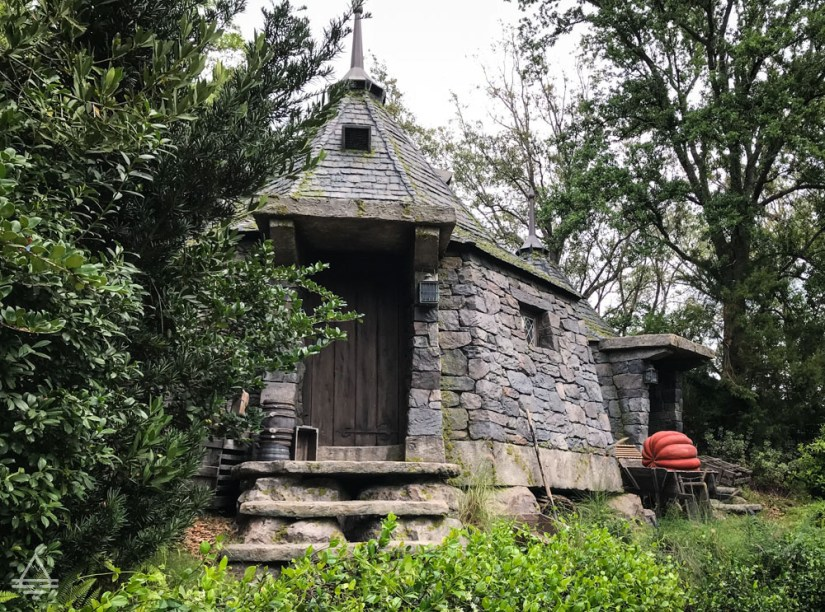 Hagrid's house in Harry Potter World Orlando