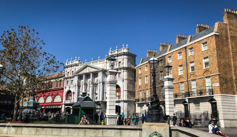 View of Grimmauld Place in Harry Potter World Orlando